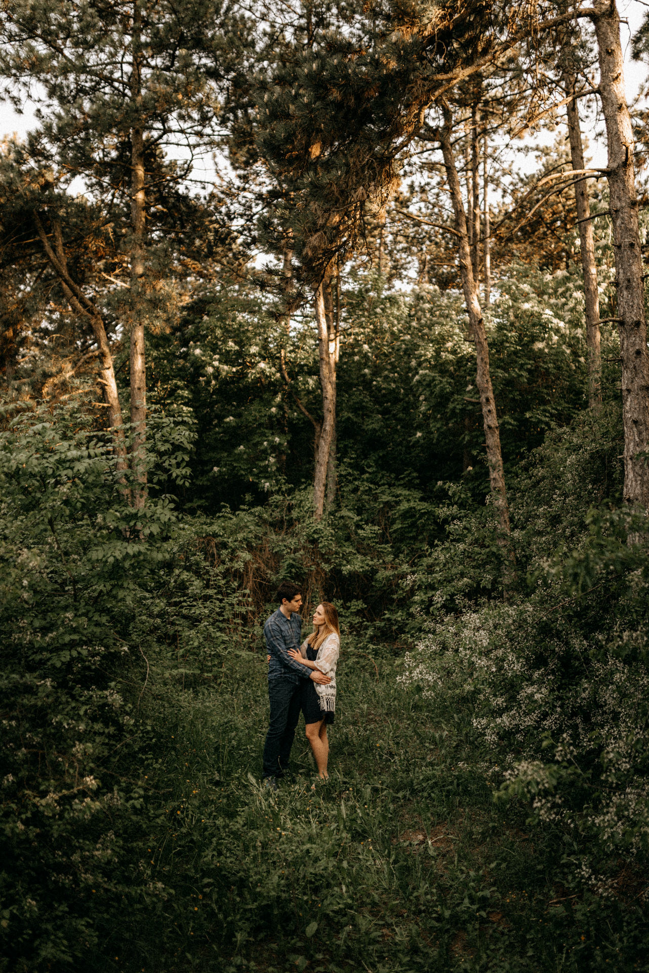 forest engagement shooting