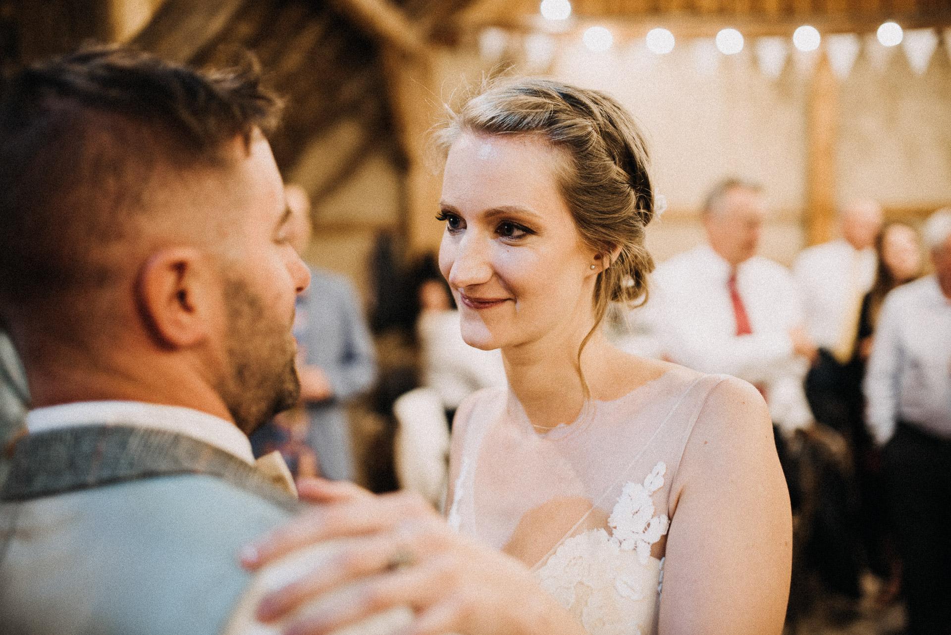 dance barn groom bride