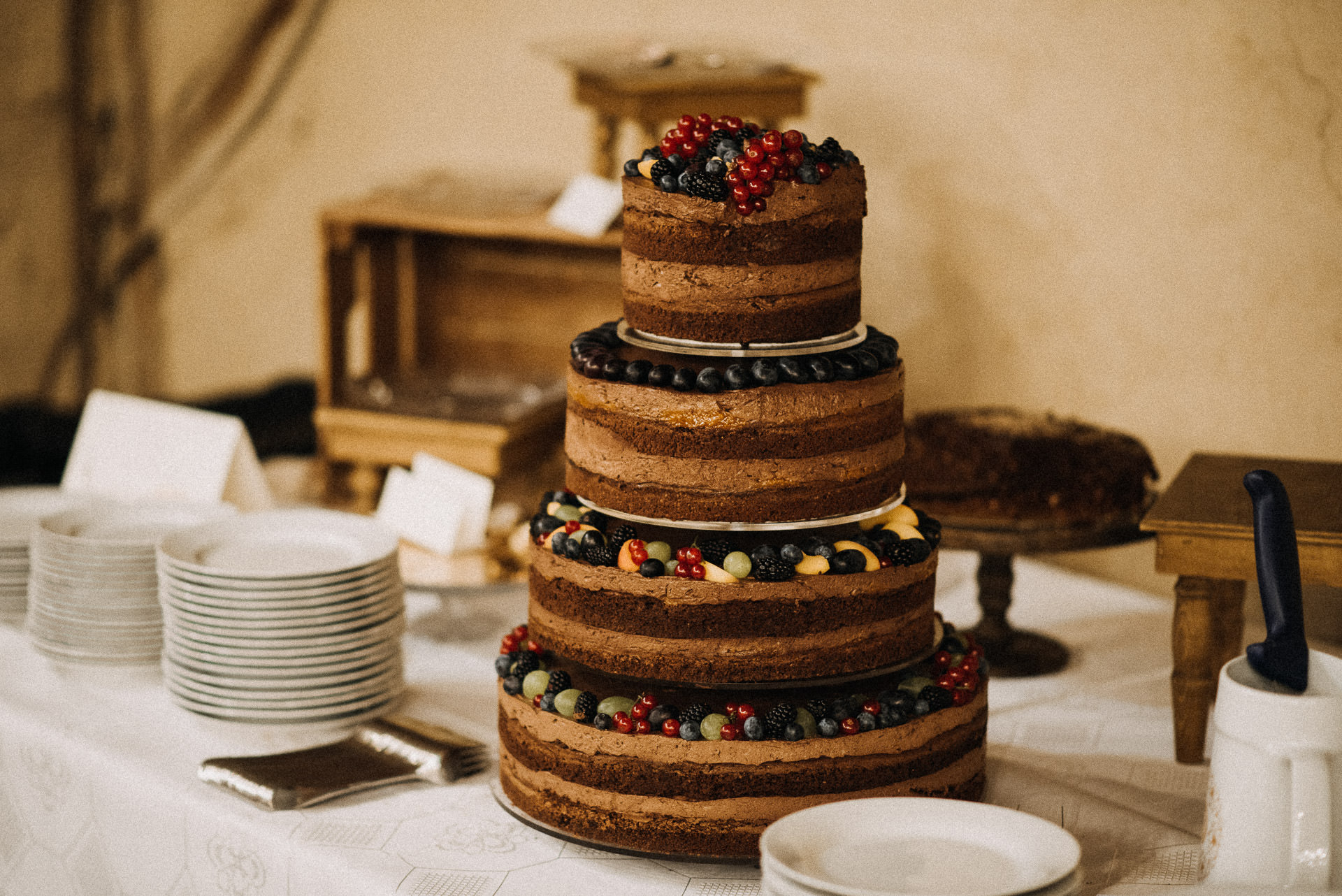 eskuvo torta wedding cake gyumolcs fruit
