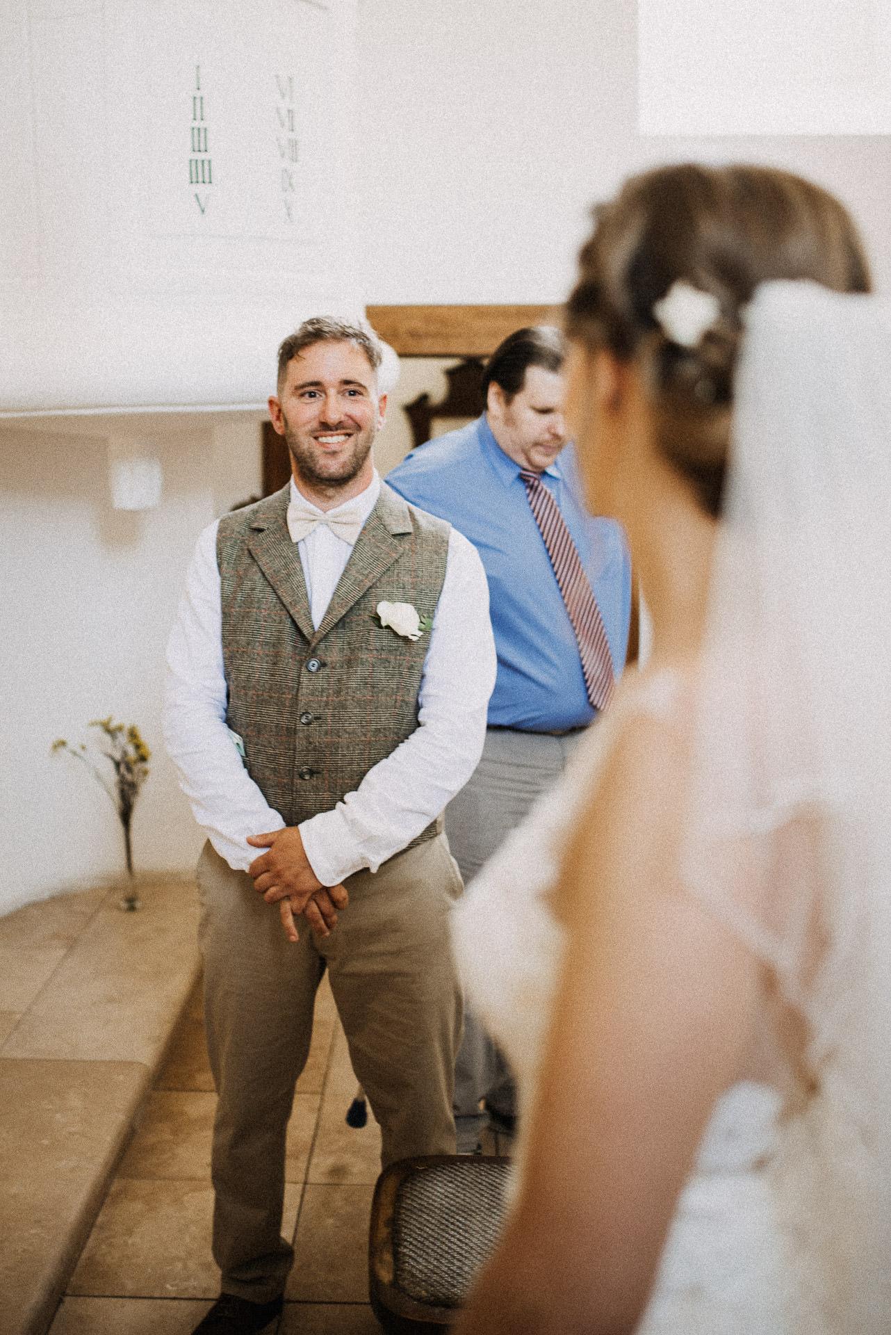 volegeny menyasszony first look elso pillantas bride groom