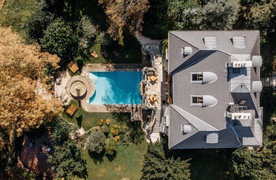 drone dron the writer's villa