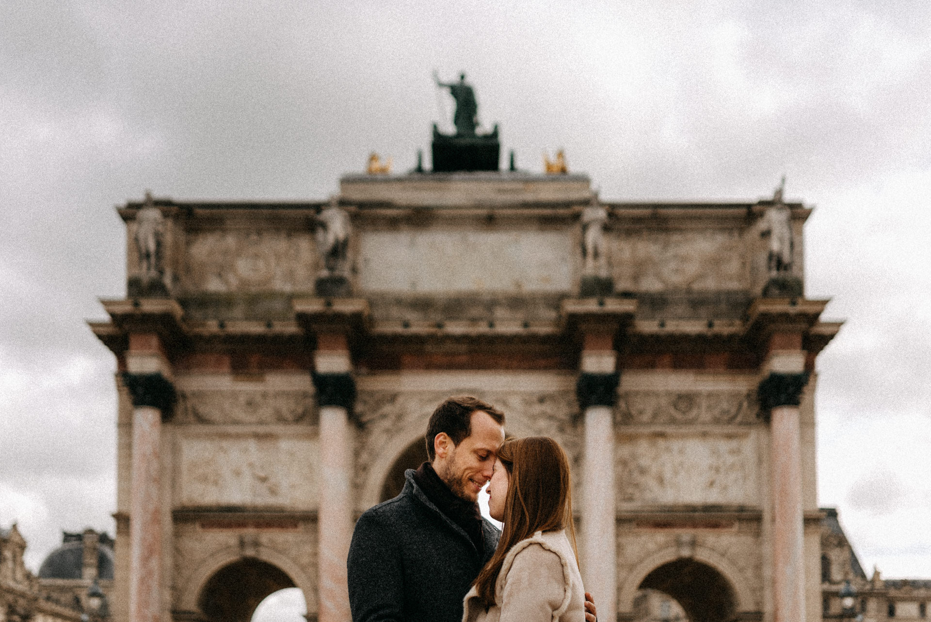 paris engagement photo