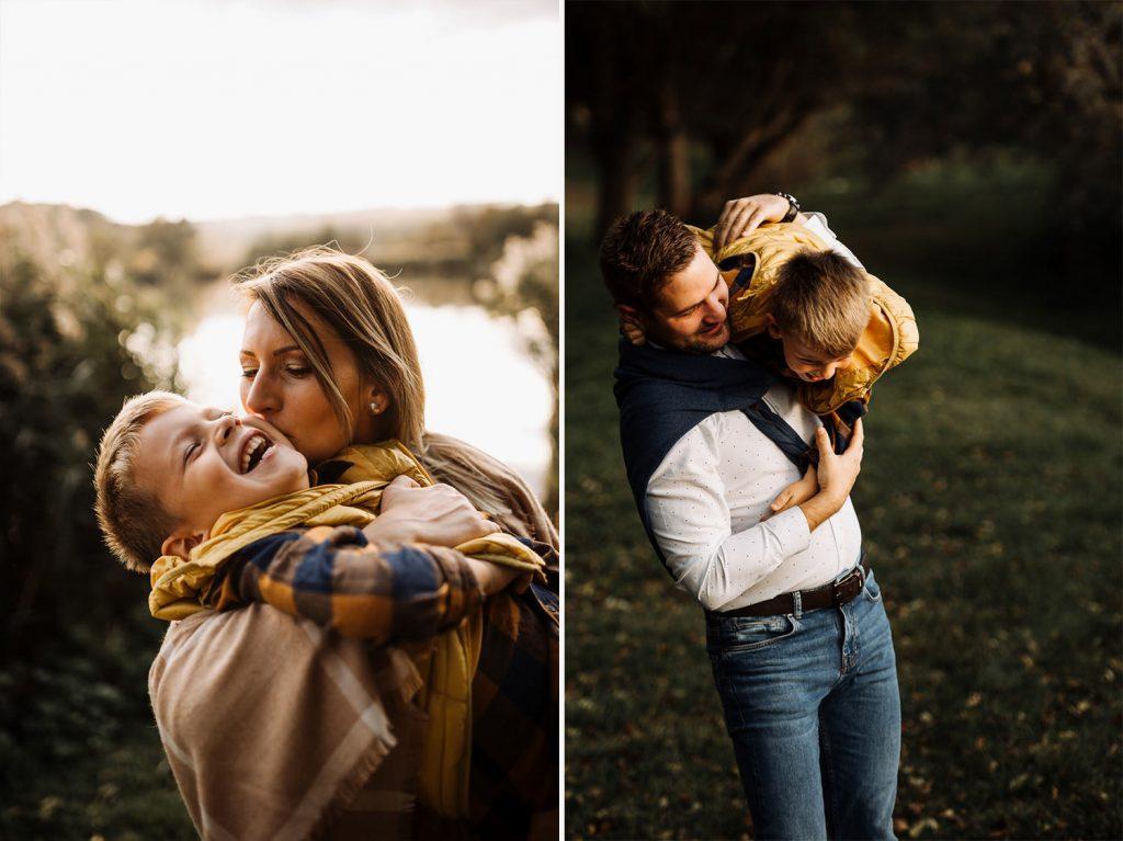 családi fotózás family session vidéken rural