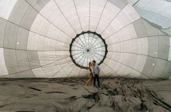 inside air baloon holegballon belulrol paros jegyes engagement