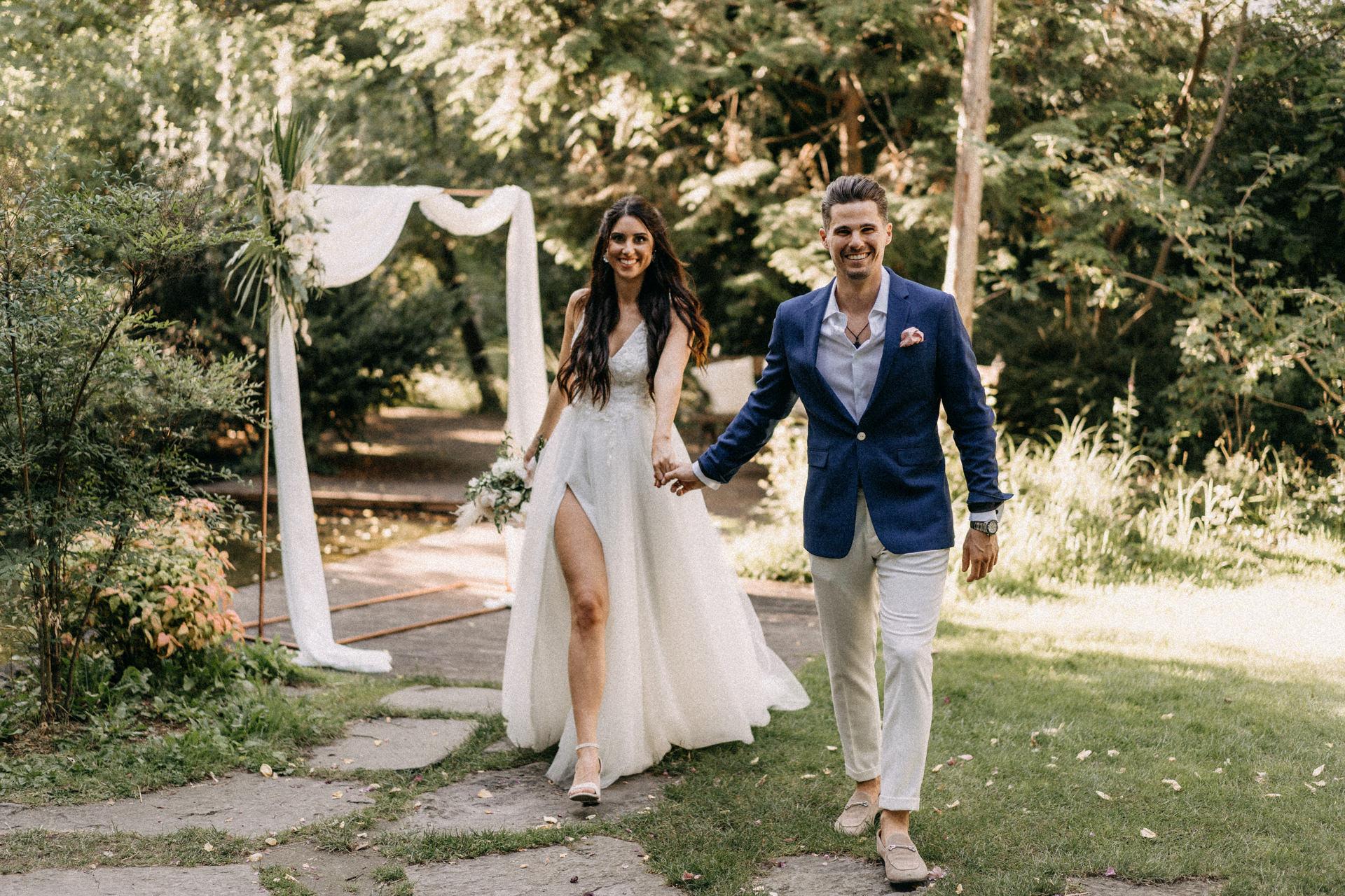 elte fuveszkert eskuvo volegeny menyasszony